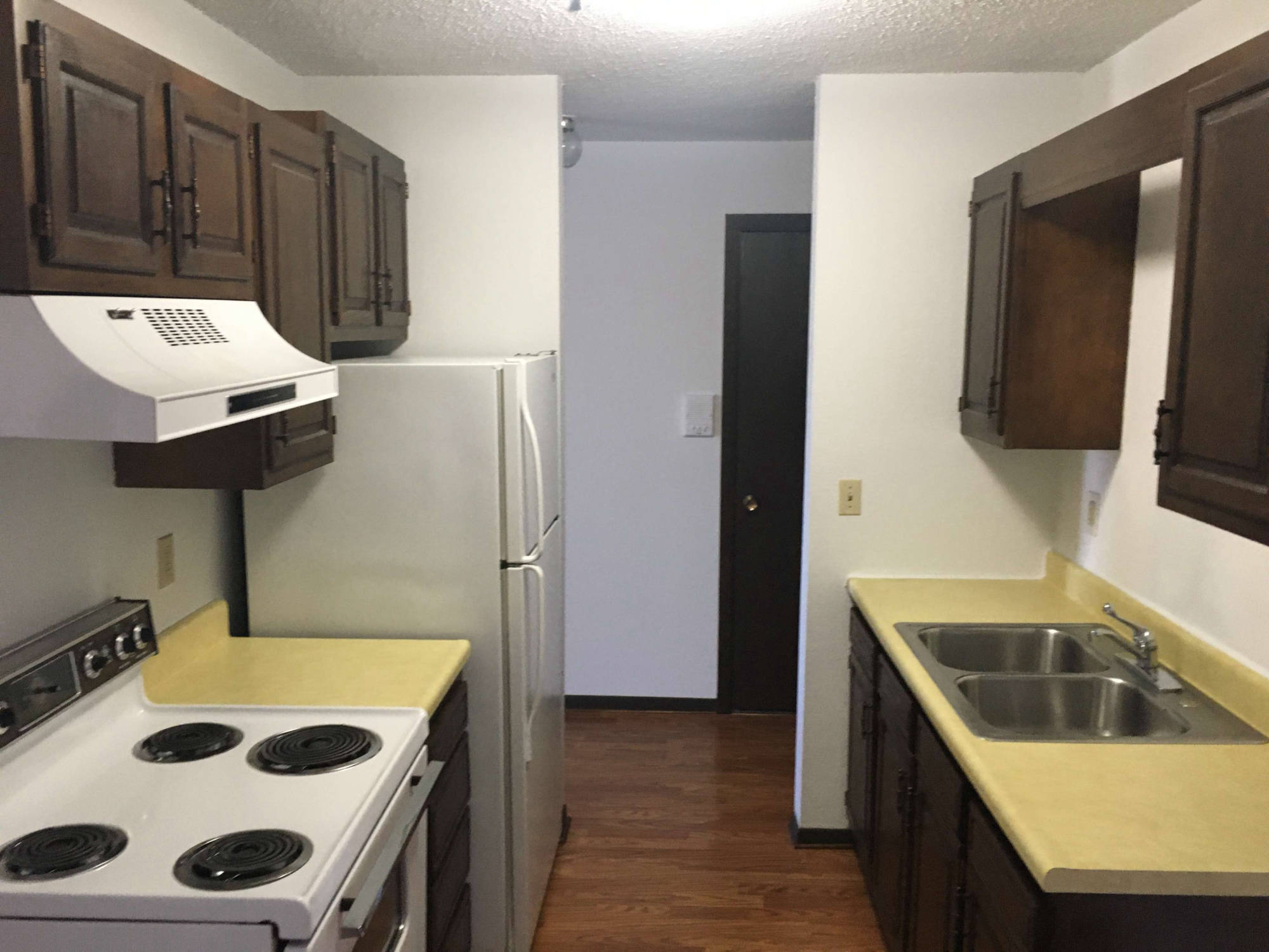 Kitchen, open plan - Little Falls Apartments MN